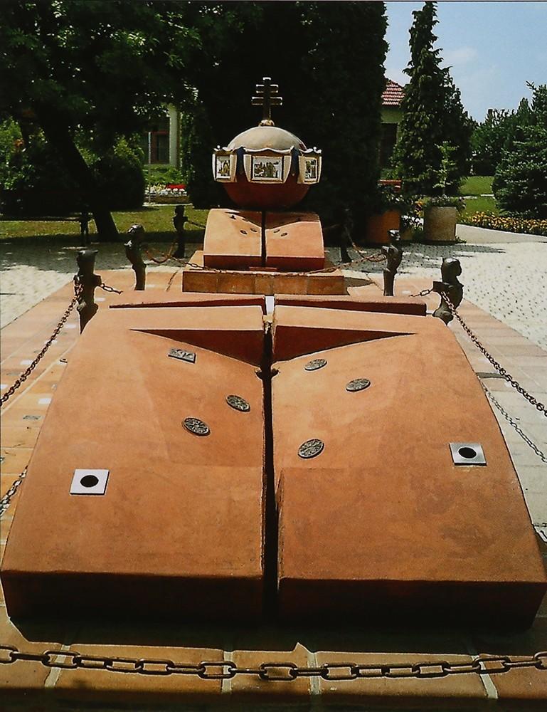Millenium Monument, Harkányfürdő, Hungary