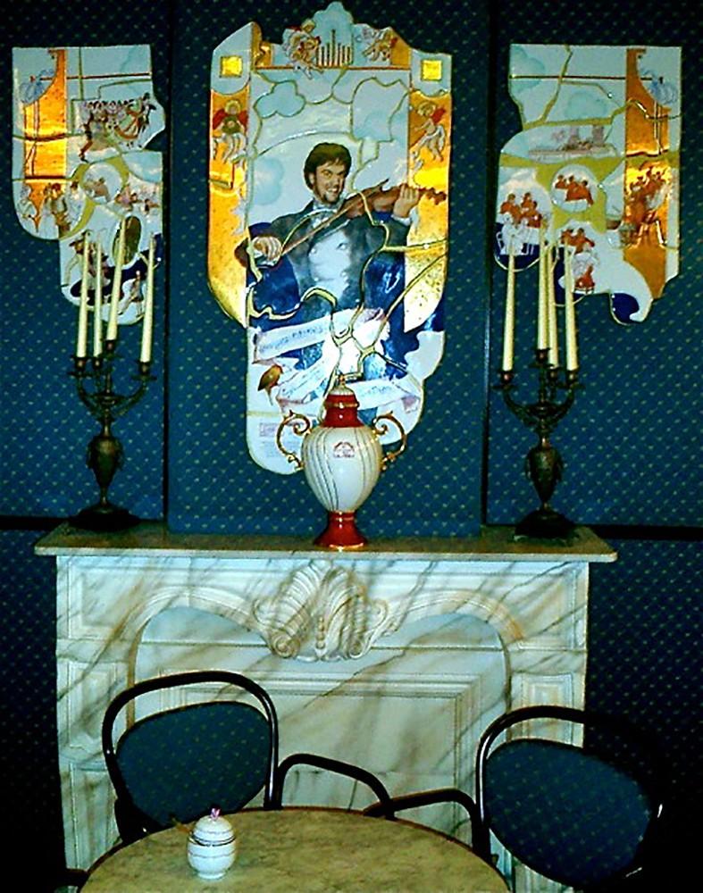 """Johann Strauss"" Wiener Cafe - Budapest, Hungary"